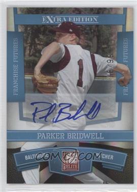 2010 Donruss Elite Extra Edition - [Base] - Franchise Futures Signatures [Autographed] #94 - Parker Bridwell /99