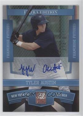 2010 Donruss Elite Extra Edition - [Base] - Franchise Futures Signatures [Autographed] #95 - Tyler Austin /811