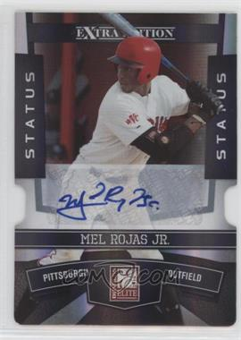 2010 Donruss Elite Extra Edition - [Base] - Status Black Die-Cut Signatures [Autographed] #80 - Mel Rojas Jr. /1