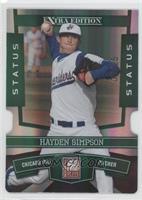Hayden Simpson #/25