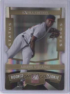 2010 Donruss Elite Extra Edition - [Base] - Status Gold Die-Cut #164 - Arodys Vizcaino /10