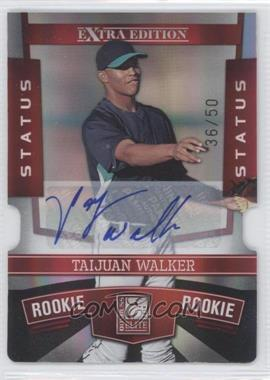 2010 Donruss Elite Extra Edition - [Base] - Status Red Die-Cut Signatures [Autographed] #163 - Taijuan Walker /50