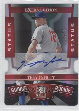 2010 Donruss Elite Extra Edition - [Base] - Status Red Die-Cut Signatures [Autographed] #193 - Trey McNutt /50