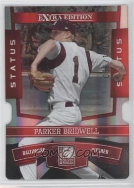 2010 Donruss Elite Extra Edition - [Base] - Status Red Die-Cut #94 - Parker Bridwell /100