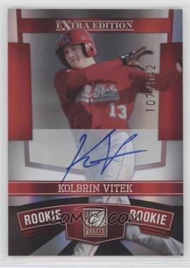 2010 Donruss Elite Extra Edition - [Base] #106 - Kolbrin Vitek /542