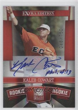 2010 Donruss Elite Extra Edition - [Base] #131 - Kaleb Cowart /750