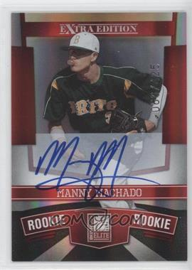 2010 Donruss Elite Extra Edition - [Base] #132 - Manny Machado /425