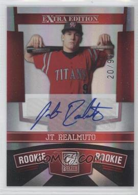 2010 Donruss Elite Extra Edition - [Base] #136 - J.T. Realmuto /99