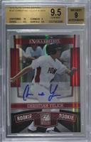 Christian Yelich /815 [BGS 9.5 GEM MINT]