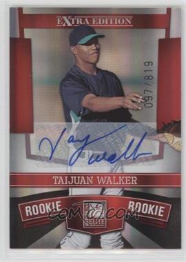 2010 Donruss Elite Extra Edition - [Base] #163 - Taijuan Walker /819