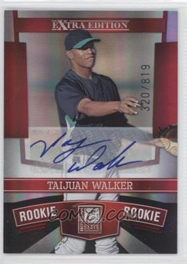 2010 Donruss Elite Extra Edition - [Base] #163 - Taijuan Walker /819