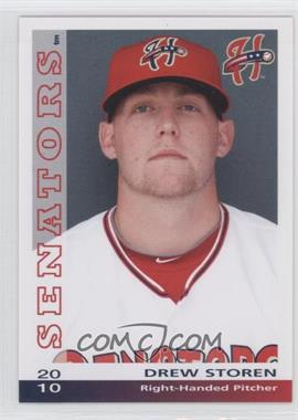 2010 Grandstand Harrisburg Senators - [Base] #N/A - Drew Storen