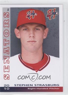 2010 Grandstand Harrisburg Senators - [Base] #STST - Stephen Strasburg