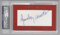 Sparky Anderson /9 [PSA/DNA Certified Auto]
