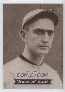 2010 Leaf Sports Icons Update - The Search for Shoeless Joe #10 - Joe Jackson