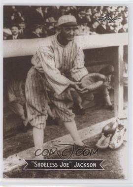 2010 Leaf Sports Icons Update - The Search for Shoeless Joe #12 - Joe Jackson