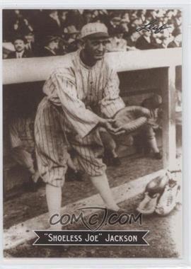 2010 Leaf Sports Icons Update - The Search for Shoeless Joe #12 - Joe Jackson