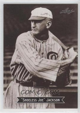 2010 Leaf Sports Icons Update - The Search for Shoeless Joe #3 - Joe Jackson
