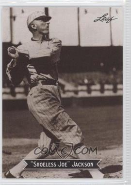2010 Leaf Sports Icons Update - The Search for Shoeless Joe #6 - Joe Jackson