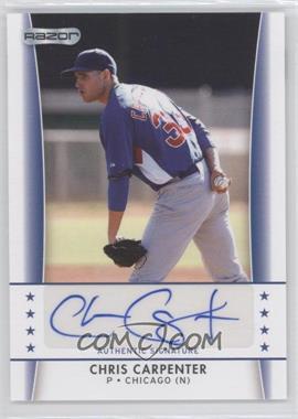 2010 Razor Autographs - [Base] #CC - 4 - Chris Carpenter