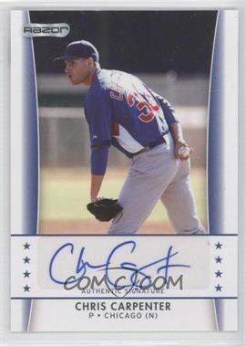 2010 Razor Autographs - [Base] #CC - 4 - Chris Carpenter
