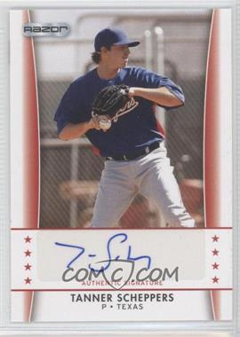 2010 Razor Autographs - [Base] #TS - 5 - Tanner Scheppers