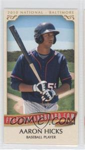 2010 Razor Freedomcardboard.com National Convention - National Convention [Base] #AAHI - Aaron Hicks /1500