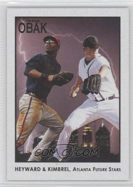 2010 TRISTAR Obak - [Base] - Black #100 - Jason Heyward, Craig Kimbrel /50
