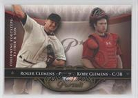 Koby Clemens, Roger Clemens, Rojean Cleofa /50
