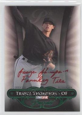 2010 TRISTAR Pursuit - [Base] - Green Autographs [Autographed] #106 - Trayce Thompson /25