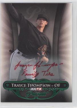 2010 TRISTAR Pursuit - [Base] - Green Autographs [Autographed] #106 - Trayce Thompson /25