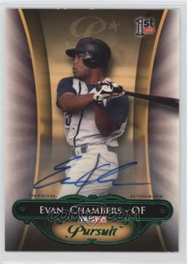 2010 TRISTAR Pursuit - [Base] - Green Autographs [Autographed] #113 - Evan Chambers /25
