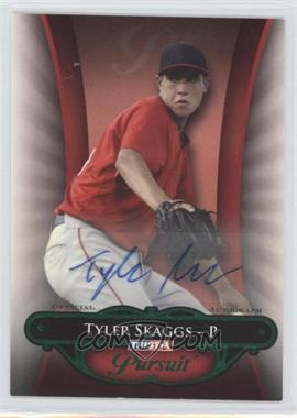 2010 TRISTAR Pursuit - [Base] - Green Autographs [Autographed] #16 - Tyler Skaggs /25