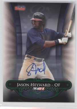 2010 TRISTAR Pursuit - [Base] - Green Autographs [Autographed] #56 - Jason Heyward /25
