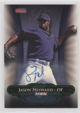 2010 TRISTAR Pursuit - [Base] - Green Autographs [Autographed] #56 - Jason Heyward /25