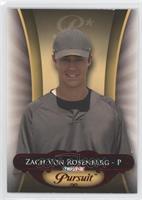 Zach Von Rosenberg #/5