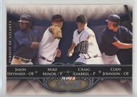 Jason Heyward, Mike Minor, Craig Kimbrel, Cody Johnson