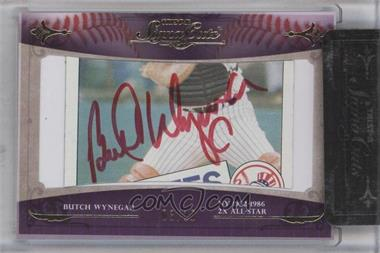 2010 TRISTAR Signa Cuts Cut Autographs - [Base] - Gold #BUWY - Butch Wynegar /10