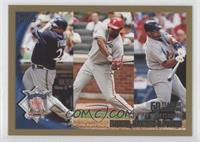 Prince Fielder, Ryan Howard, Albert Pujols /2010