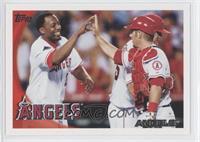 Los Angeles Angels of Anaheim Team (Vladimir Guerrero, Mike Napoli, Mike Sciosc…