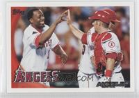 Los Angeles Angels of Anaheim Team (Vladimir Guerrero, Mike Napoli, Mike Sciosc…