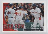 Boston Red Sox Team, Kevin Youkilis, David Ortiz