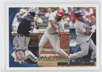 Prince Fielder, Ryan Howard, Albert Pujols