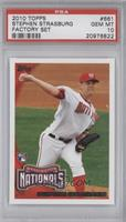Stephen Strasburg (Arm at Side) [PSA 10]