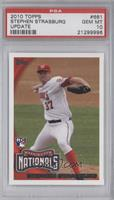 Stephen Strasburg (Arm Back) [PSA 10]