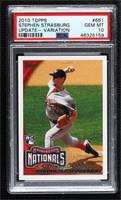 Stephen Strasburg (Gray Uniform) [PSA 10 GEM MT]