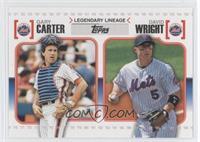 Gary Carter, David Wright