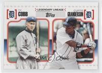 Curtis Granderson, Ty Cobb