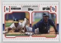 B.J. Upton, Rickey Henderson