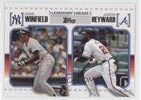 Jason Heyward, Dave Winfield